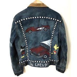 Vintage 70's Hand Painted Jacket